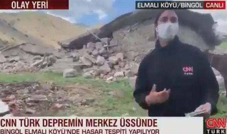 CNN Türk muhabiri 'eşek' esprilerine isyan etti