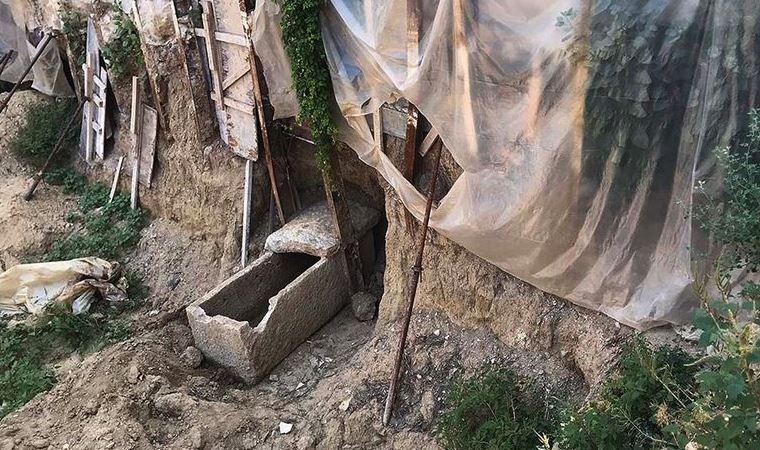 İzmir'de inşaat kazısından tarih çıktı!