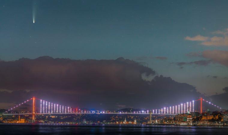 Neowise kuyruklu yıldızı İstanbul semalarında