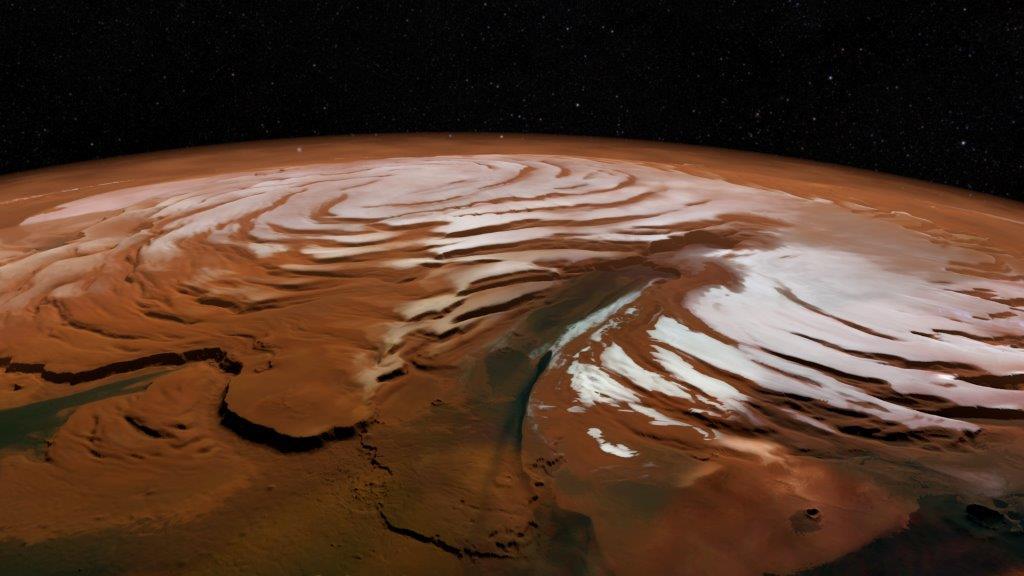 Mars'taki su buzulların altında korunmuş olabilir 3
