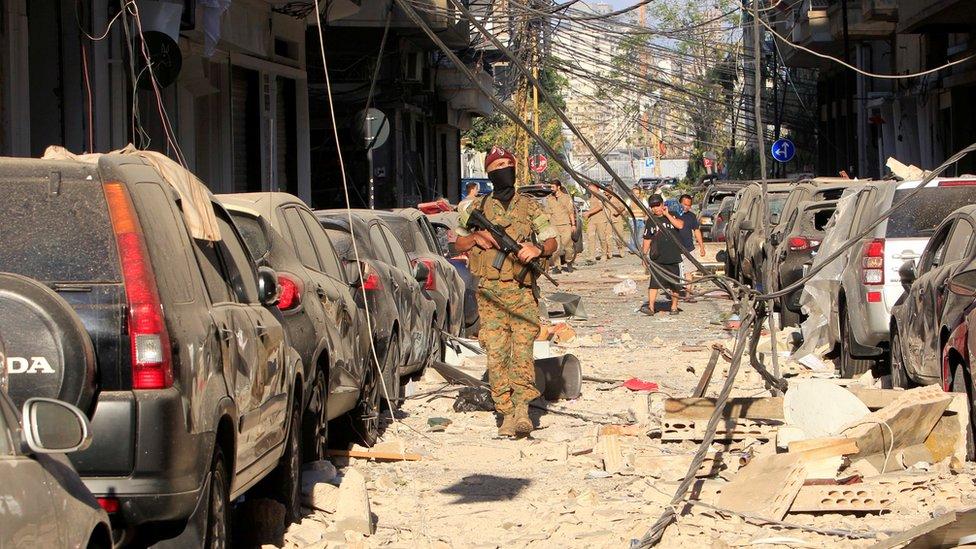 <p>Reuters</p><p>Patlama, Lübnan'ın ekonomik kriz ve koronavirüs salgınıyla mücadele ettiği bir dönemde meydana geldi</p>