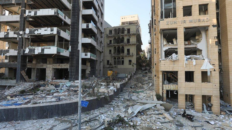 <p>Reuters</p><p>Patlamadan bütün şehir etkilendi</p>