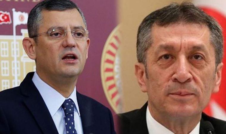 CHP'li Özgür Özel'den Bakan Selçuk'un sözlerine sert tepki