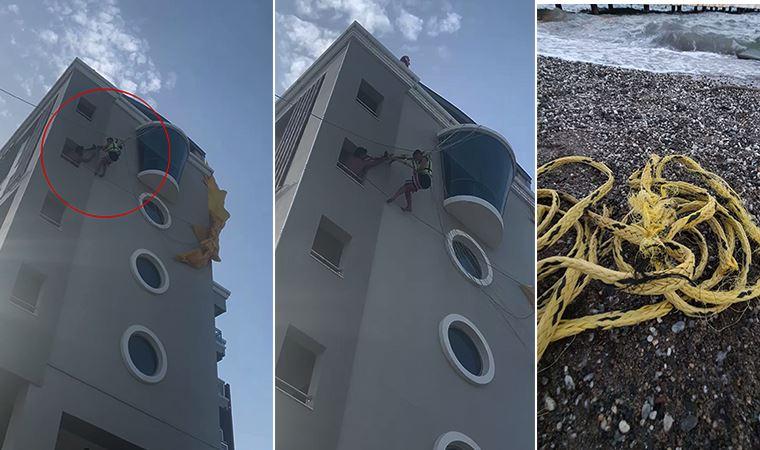 Marmaris'te deniz paraşütü kazasında mucize kurtuluş