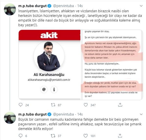 AKP'li kadın vekilden Akit'e sert tepki: Paçavra, esfeli safiline inmiş ahlaksız