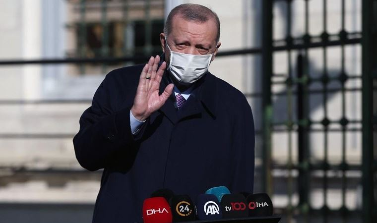 Erdoğan yeni yıla böyle başladı