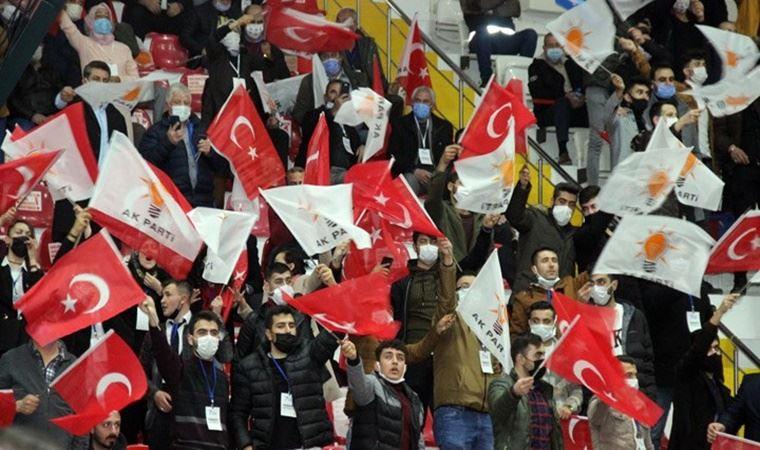 AKP Yozgat 7. Olağan İl Kongresi'nde sosyal mesafe ve maske kuralı hiçe sayıldı!