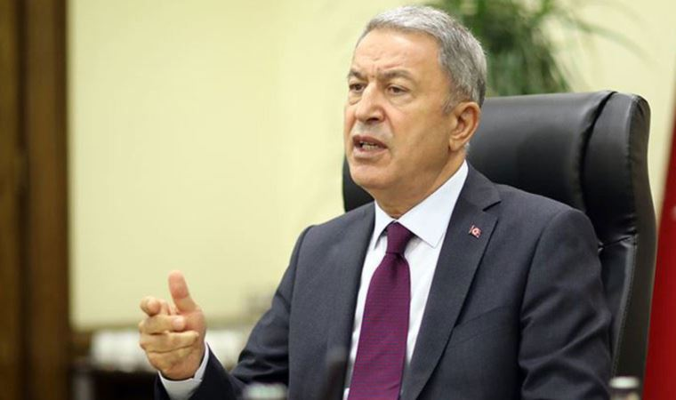 'Operation' message from Minister Akar to Syria