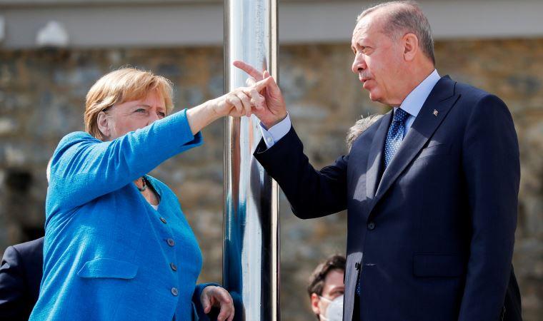 Merkel'den Erdoğan'a