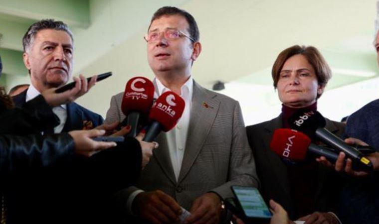 Mecidiyeköy Meydanı'nın açılışında konuşan İmamoğlu, basın mensuplarının sorularını yanıtladı