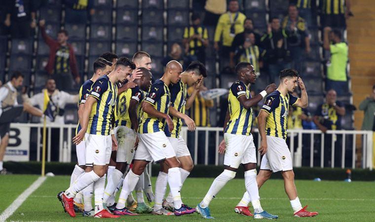 Fenerbahçe, öne geçtiği maçta üstünlüğünü koruyamadı!