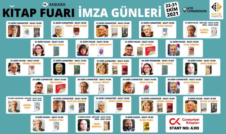 Cumhuriyet yazarları Ankara'da okuyucuyla buluşuyor!