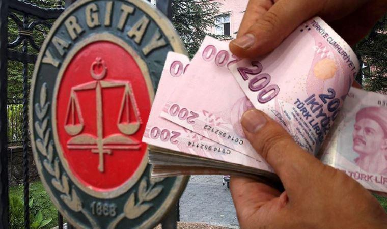 Yargıtay'dan emsal 'asgari ücret' kararı