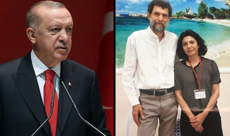 Erdoğan'a Kavala cephesinden yanıt