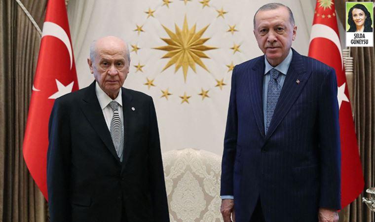 Erdoğan ve Bahçeli'nin 'sürpriz' görüşmesi