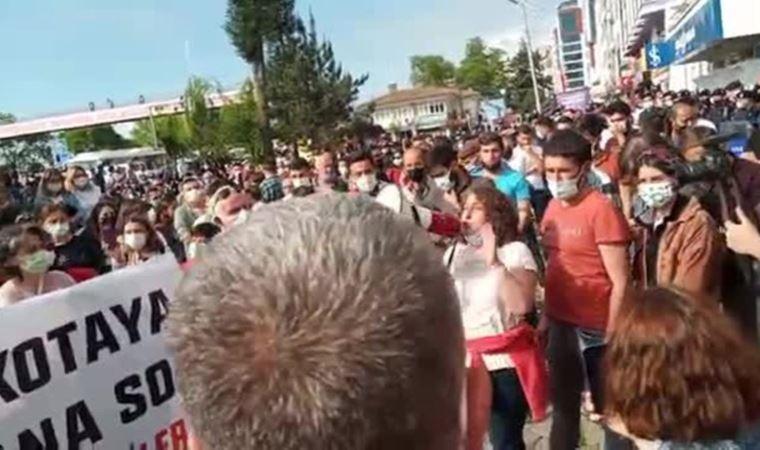Hopa'da çay üreticilerine protestoya katıldıkları için para cezası kesildi