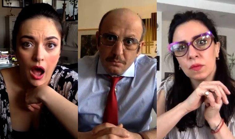 Reha Erdem'den karantina komedisi..