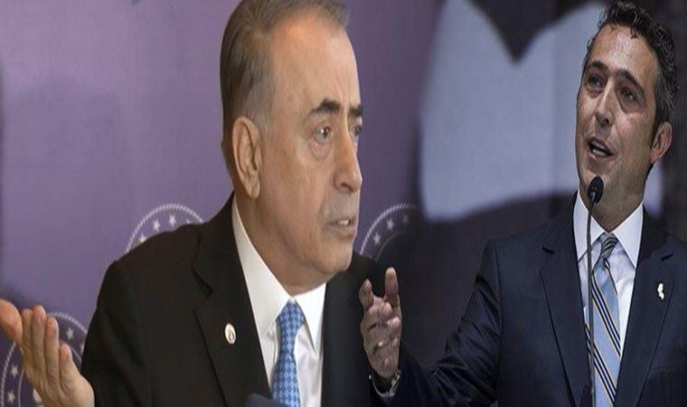 """Fenerbahçe Başkanı Ali Koç'tan Galatasaray Başkanı Cengiz'e, """"İftira atıyor"""" iması!"""