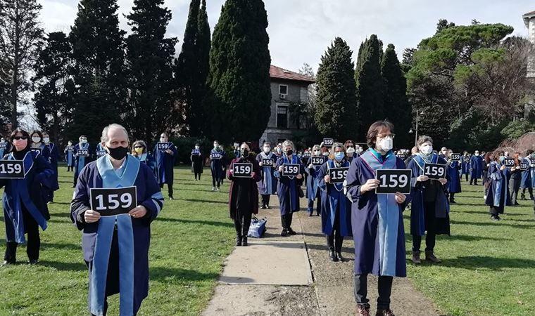 Boğaziçi'li akademisyenler yine sırtını döndü