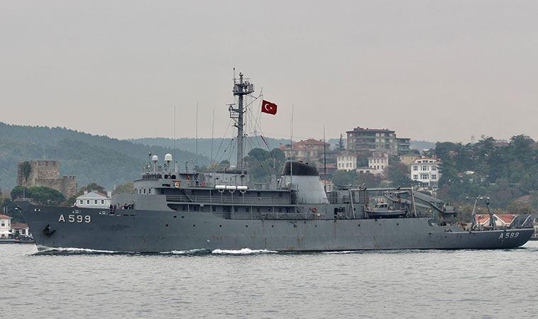 TCG Çeşme gemisi, Yunan F-16'ları tarafından taciz edildi
