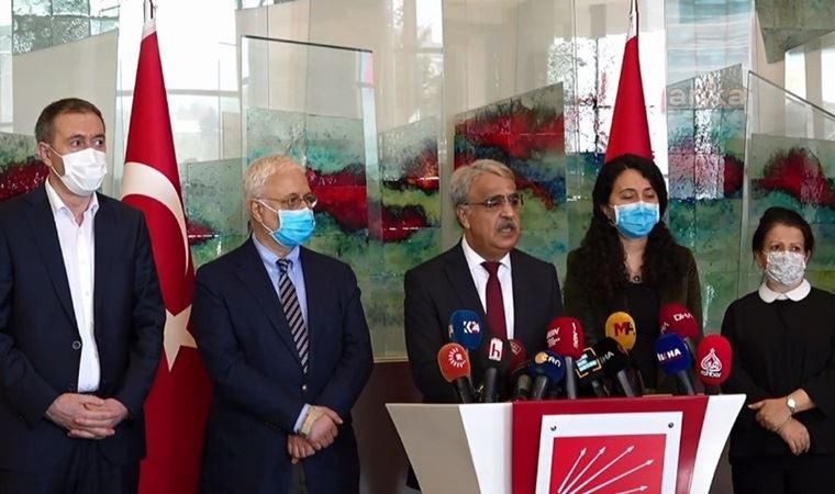 HDP'den CHP ile görüşme sonrası açıklama: Yolun şimdiden sağlamlaştırılması gerekiyor