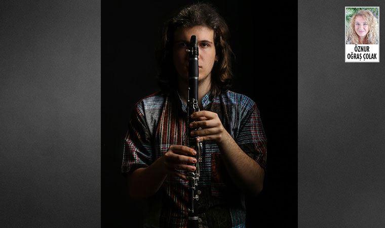 Genç klarnet sanatçısı Onur Çalışkan, Cemal Reşit Rey'de online konser verecek