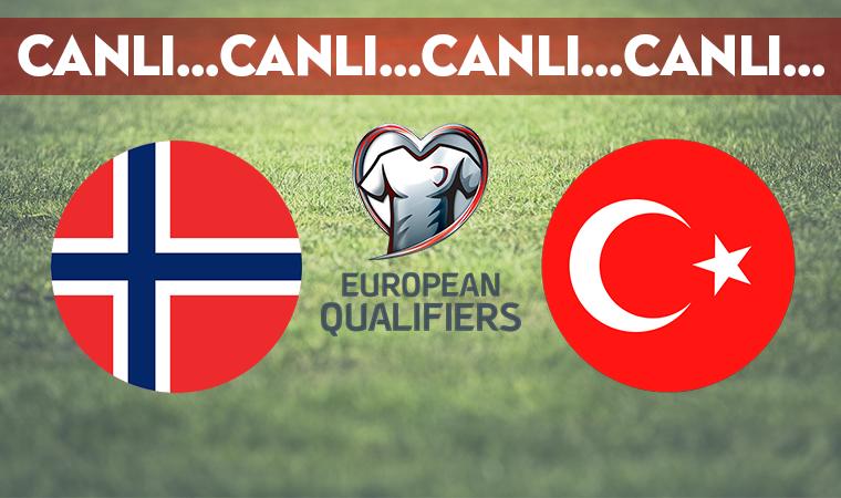 CANLI ANLATIM | Norveç 0-1 Türkiye