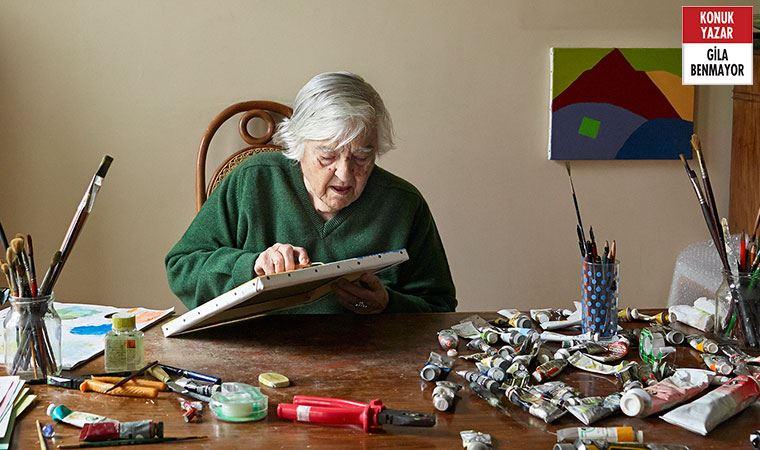 91 yaşında sanat ikonu olan sanatçı Pera Müzesi'nde