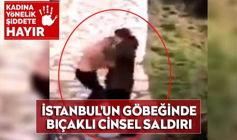 İstanbul'un göbeğinde bıçaklı cinsel saldırı