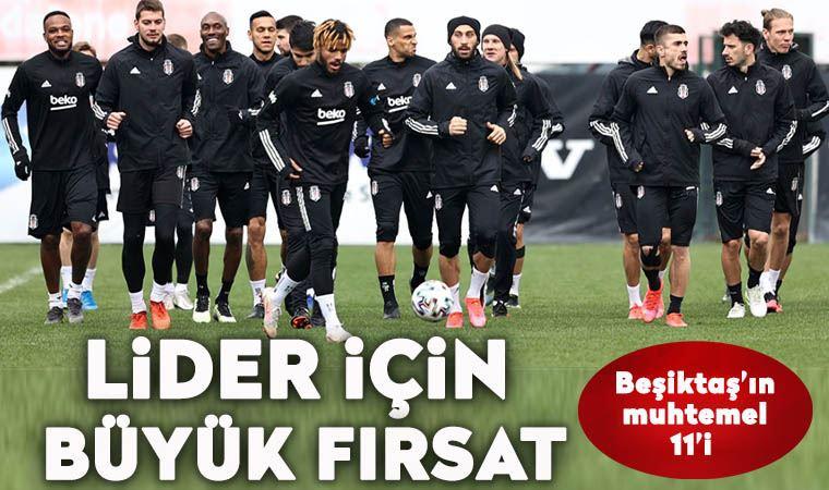 Beşiktaş Erzurum deplasmanında; işte ilk 11!
