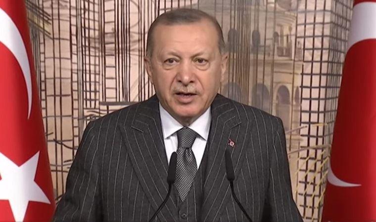Erdoğan'dan salgın mesajı