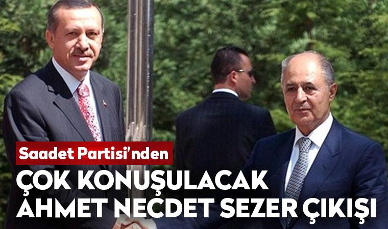 Çok konuşulacak Ahmet Necdet Sezer çıkışı