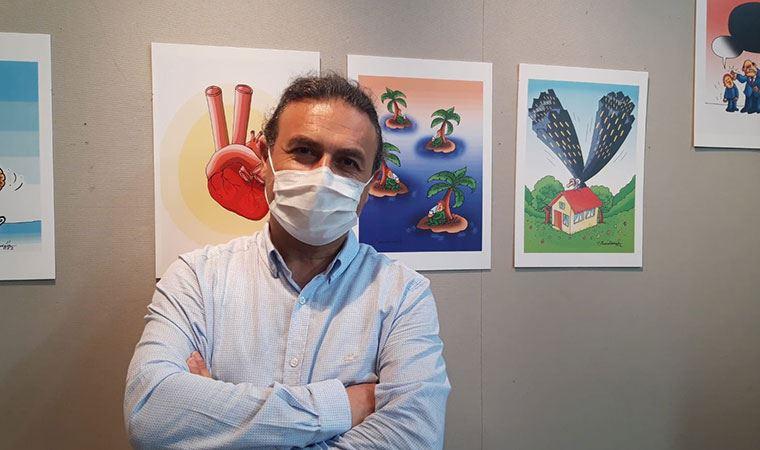 Adli tıp hekimi Halis Dokgöz'ün sergisi İstanbul'da açıldı