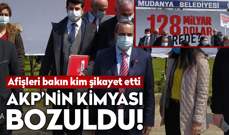 CHP afişlerini bakım kim şikayet etmiş