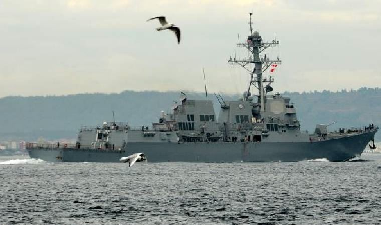 ABD, Karadeniz'e savaş gemisi göndermekten vazgeçti