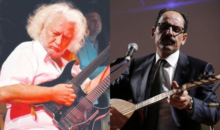 Erkan Oğur ve İbrahim Kalın işbirliği gündem oldu: Saray, konu müzik olunca liyakat demiş!