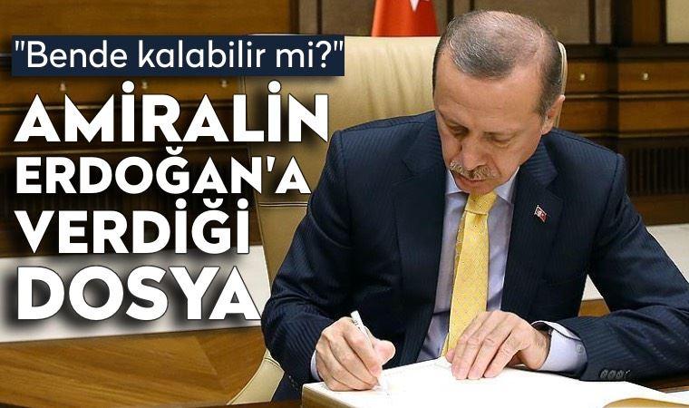 Amiralin Erdoğan'a verdiği dosya