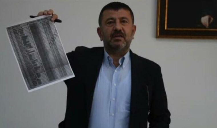 CHP'li Veli Ağbaba, AKP'li Yeşilyurt Belediyesi tarafından Almanya'ya gönderilen ve geri dönmeyen kişilerin listesini paylaştı