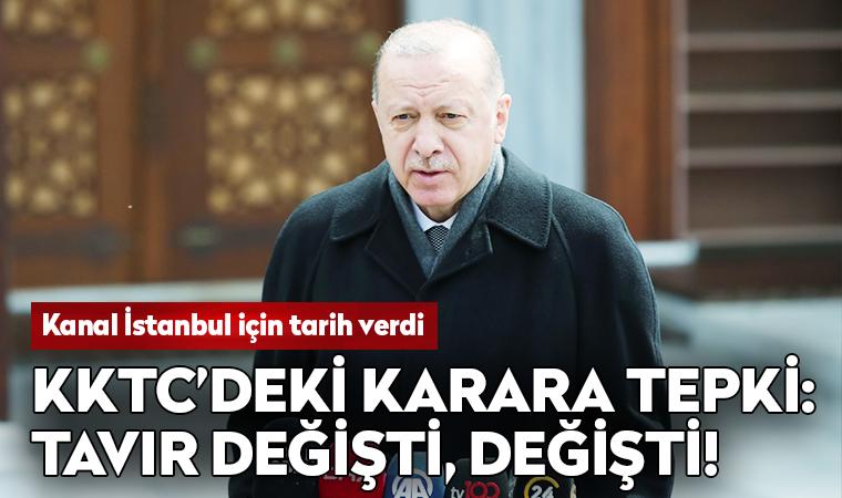 Erdoğan'dan KKTC'ye: Tavır değişti, değişti!
