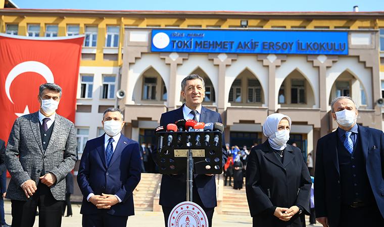 Son dakika... Milli Eğitim Bakanı Ziya Selçuk'tan 'yüz yüze eğitim' açıklaması