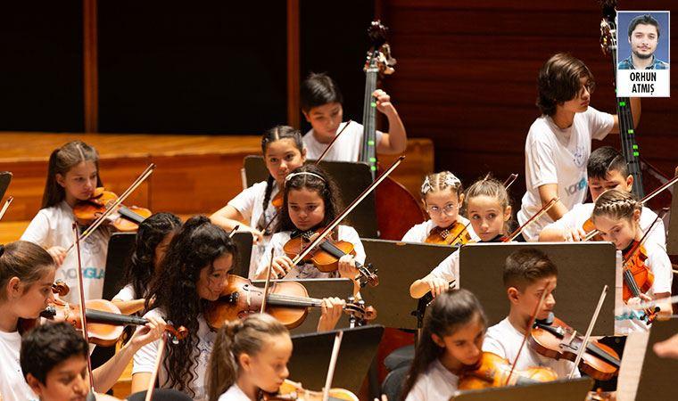 Yorglass Barış Çocuk Senfoni Orkestrası, kurulduğu günden bu yana 4 yılda İzmir'de 100 çocuğa ulaştı