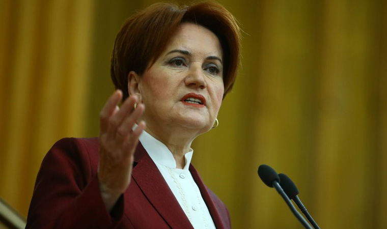 Akşener: Güle güle Erdoğan!