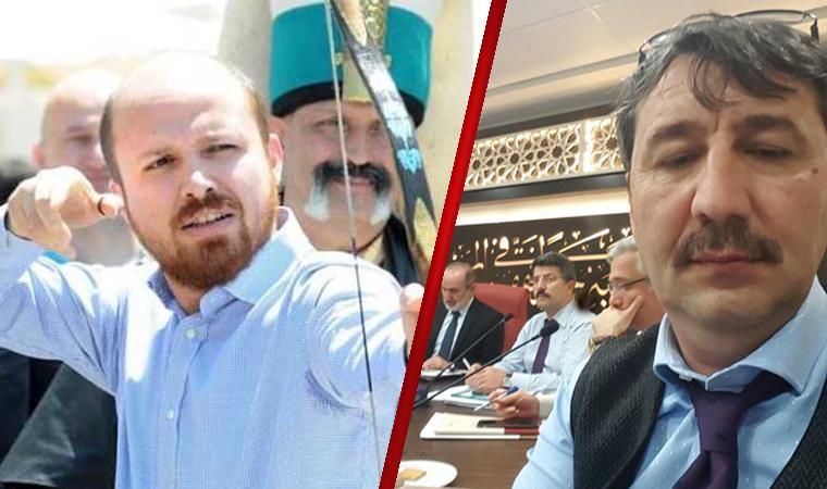 Yeni atanan rektör Bilal Erdoğan'a da teşekkür etti