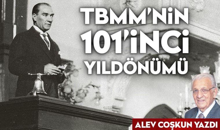 TBMM'nin 101. yıldönümü