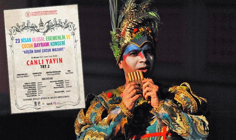 İstanbul Devlet Opera ve Balesi, Ulusal Egemenlik ve Çocuk Bayramı'nı konser ile kutluyor