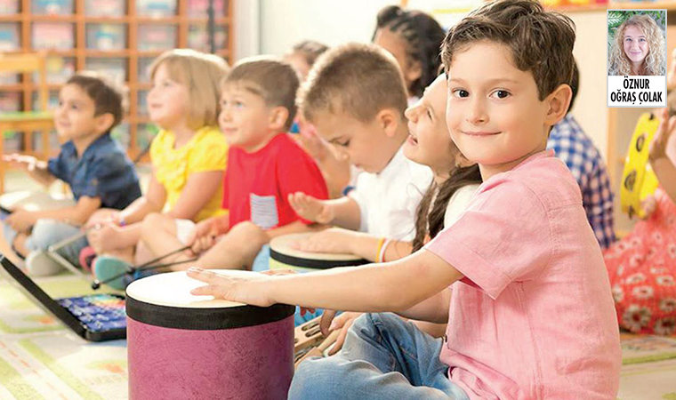 Çocuklar için sanatın her yönü