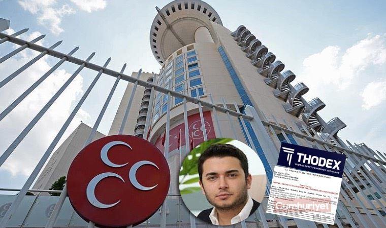 MHP'li vekil Sancaklı'nın oğlu ile Thodex'in kurucusunun ortak olduğu şirket
