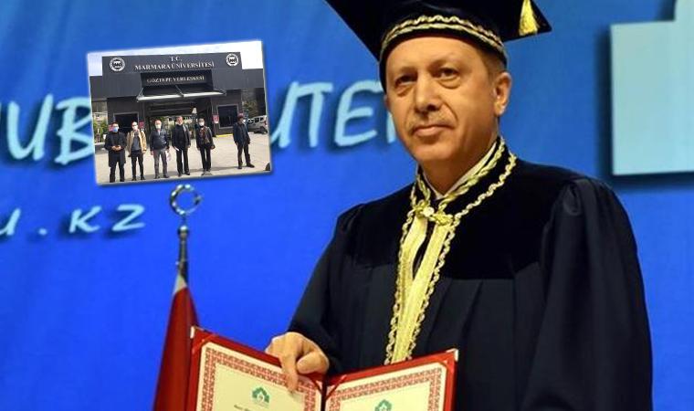 HKP avukatları Erdoğan'ın diploması hakkında üniversiteye başvurdu
