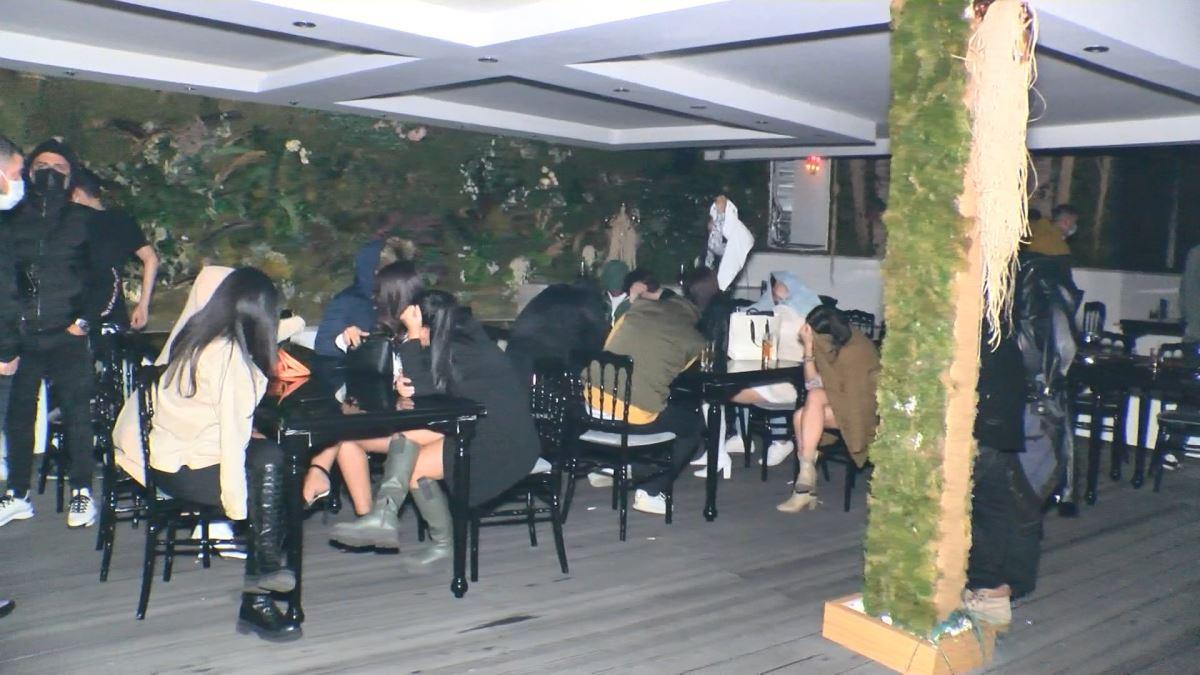 Eğlence sahnesi çekeceğiz diyerek 500 kişilik parti düzenlediler! Tel  örgüye takılanlar, bekçileri tehdit edenler...