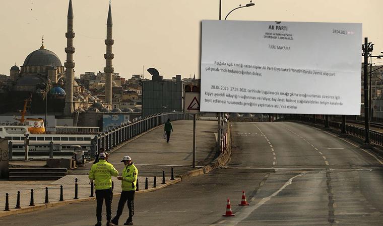 AKP İl Başkanlıkları'nda muafiyet belgesi mi dağıtılıyor? Önce paylaştı, sonra sildi